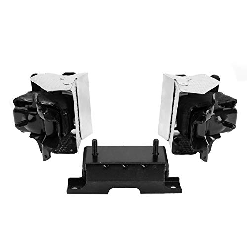 Ashimori Compatible With 2007-2014 Escalade Suburban 1500 Tahoe Yukon Transmission Engine Motor Mount Set A2638 A3211 A3211