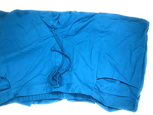Grey's Anatomy 4232 Junior 5 Pocket Drawstring Pant (Capri, XXXXX-Large) Blue ()