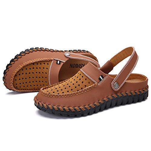 Dimensione Casual 38 Spiaggia da Wagsiyi Pantofole pantofole 3 E Sandali Sandali Uomo spiaggia Da Comfort Doppio Scarpe Da 2 Colore A Marrone Estivi Marrone EU Uso nRPxaY1wqP