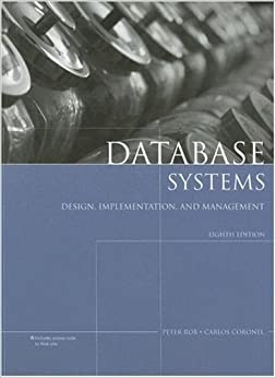 By Peter Rob, Carlos Coronel: Database Systems: Design ...