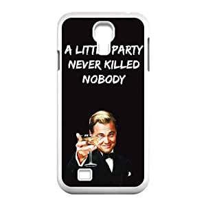 Samsung Galaxy S4 9500 Cell Phone Case White Wolf Of Wall Street Phone cover SE8575755