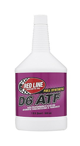 Red Line 30704 D6 Automatic Transmission Fluid - 1 Quart (Pack of 6)