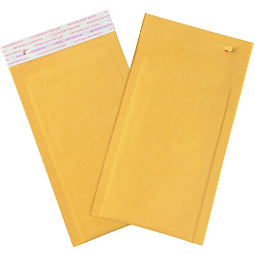 Tape Logic TLB851SSRTT Self-Seal Bubble Mailers with Tear Strip, #000, 4