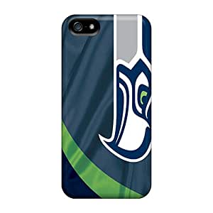 Awesome Wlv451KhEx BillCM Defender Tpu Hard Case Cover For Iphone 5/5s- Seattle Seahawks