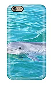 Rosemary M. Carollo's Shop Hot High Grade Flexible Tpu Case For Iphone 6 - Dolphins