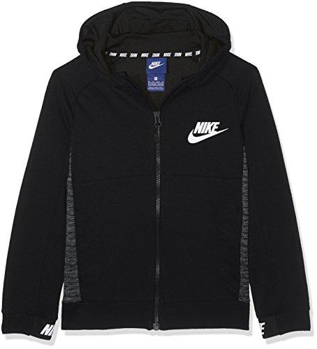 Nike Boys Sportswear Advance 15 Big Kids Hoodie Black 856185-010 (S)