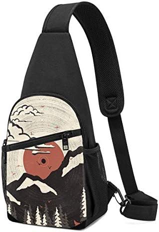 ボディ肩掛け 斜め掛け Cdの山脈 ショルダーバッグ ワンショルダーバッグ メンズ 軽量 大容量 多機能レジャーバックパック