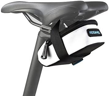 Sillín de bicicleta para bicicleta, asiento trasero, bolsa repelente al agua para el día y la noche, al aire libre, viajes, color negro: Amazon.es: Deportes y aire libre