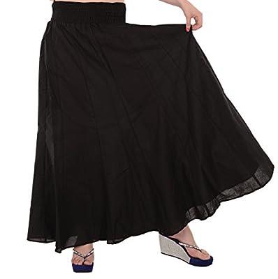 SNS Pure Cotton Beach Long Maxi Evening Skirt.