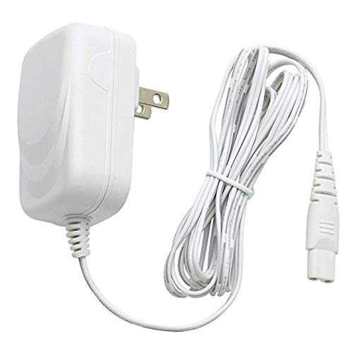 Authentic Replacement Charging Travel-Ready Power Charger Adpater for Vibratex Magic Wand Rechargeable Cordless HV-270