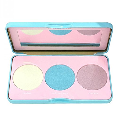 Beauty Creation three shades of sweet glow. it is scented with candy! (Blush Scented)