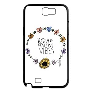 Good Vibes Custom Cover Case for Samsung Galaxy Note 2 N7100,diy phone case ygtg582275