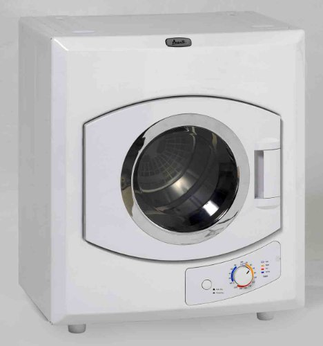 Avanti 110-Volt Automatic Portable Compact Dryer with Stainless Drum and See-Thru Window ()