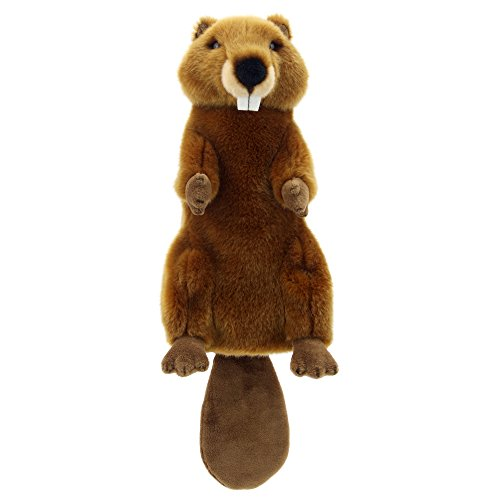 The Puppet Company Long-Sleeves Beaver Hand Puppet