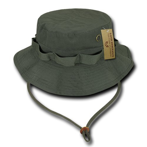 (Rapiddominance R71-PL-OD-02 Ripstop Boonies, M, Olive Drab)