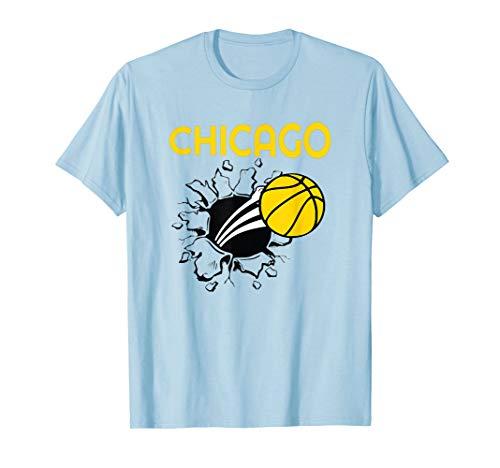 Chicago Womens Basketball Jersey Sky Illinois Gift  T-Shirt