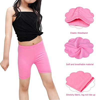 M 10 Pack Dance Shorts Girls Bike Short Breathable and Safety