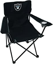 NFL Oakland Raiders Unisex LP0055NFL Game Day Elite Chair, Black, Adult
