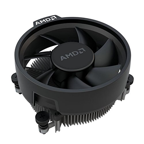 AMD Wraith Stealth Socket AM4 4-Pin Connector CPU Cooler With Aluminum Heatsink & 3.93-Inch Fan With TronStore Thermal Paste For Desktop PC Computer (TS72) by TronStore (Image #3)