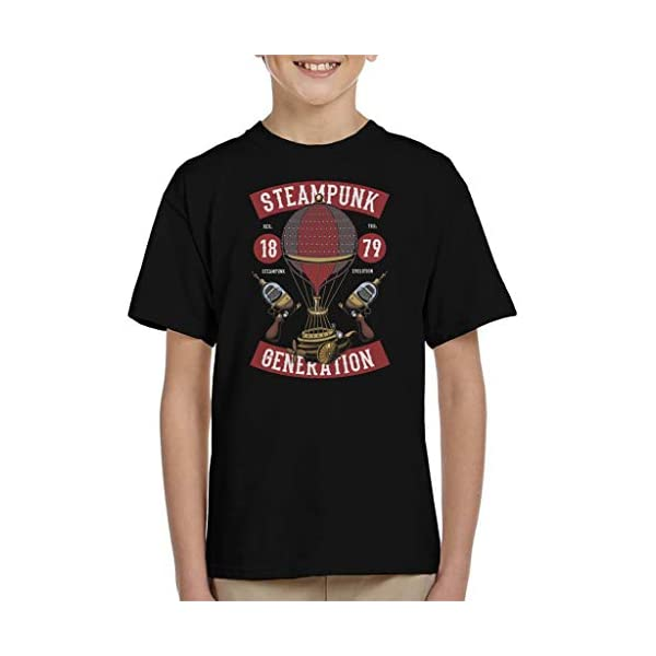 Coto7 Steampunk Generation Kid's T-Shirt 3