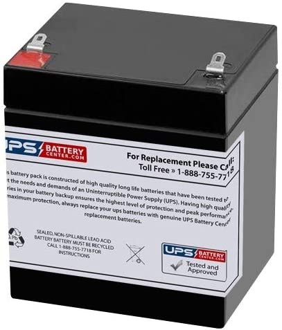 New Battery for APC RBC45 Compatible Replacement by UPSBatteryCenter