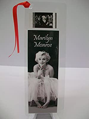 MARILYN MONROE movie film cell bookmark memorabilia collectible poster