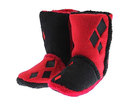 Hot Harley Quinn Costumes (DC Comics Harley Quinn Slipper Boots)
