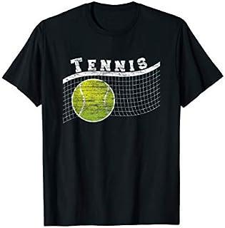 Birthday Gift Cool Tennis  Tennis Net Tennis Balls Men Woman Gift Long Sleeve Funny Shirt / Navy / S - 5XL