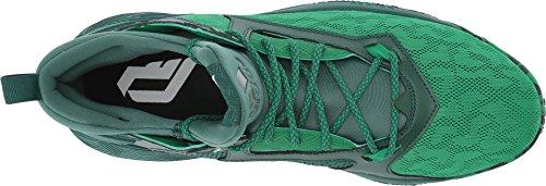 Adidas D Lillard 2 Mens Basketballsko Grønn / Grønn / Hvit