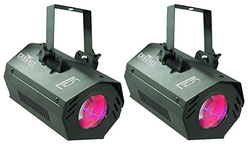 - (2) Chauvet LX5 Moon Flower Lights - Built In Lighting Programs