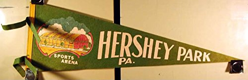 1940 1950S Pennant Sports Arena Hershey Park Pa