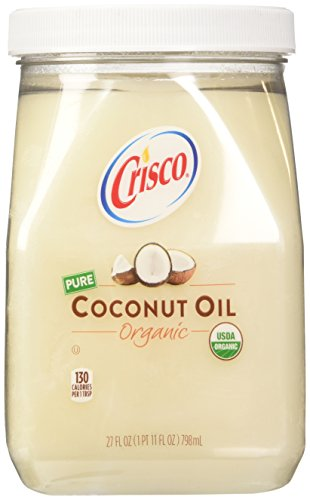 Coconut Oil Refined (Crisco Organic Coconut Oil, 27 Fluid Ounce)