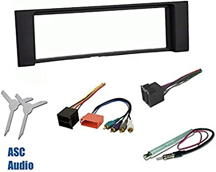 BMW 7 Series Premium Stereo w AMP Install Wire Harness