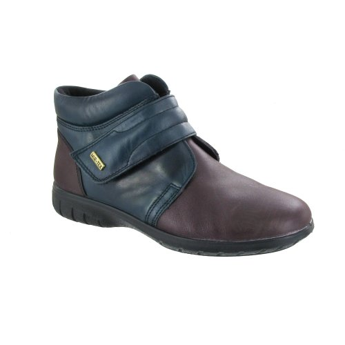 Cotswold Chalford Damene Ankel Boot / Womens Boots Navy / Bordo