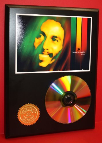 Bob Marley Memorabilia (Bob Marley Gift Limited Edition 24Kt Gold Rare Collectible Disc Award Quality Music)
