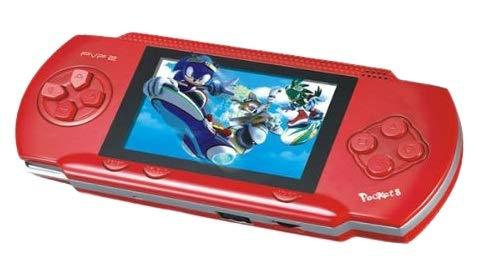 Fusine 16 Bit PVP 2 Digital Pocket System   Handheld Video Game   With inbuilt 999888 in 1 Games   with 2 Extra Games…