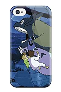 Everett L. Carrasquillo's Shop Best hayao miyazaki totoro my neighbour Anime Pop Culture Hard Plastic iPhone 4/4s cases
