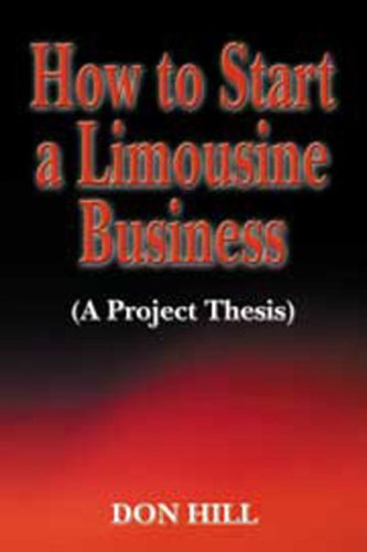 Read Online How to Start a Limousine Business pdf epub