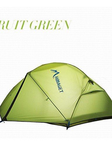 FUDA tent Zelt ( Hellgr¨¹n / Orange , 2 Personen ) -Feuchtigkeitsdurchl?ssigkeit / Feuchtigkeitsundurchl?ssig / Wasserdicht / Atmungsaktivit?t /