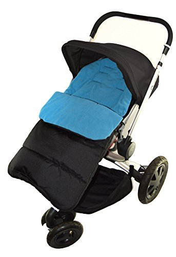 Footmuff//Cosy Toes Compatible with Out n About Nipper Single 360 Pushchair Ocean Blue