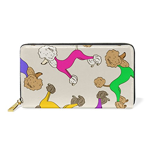Clutch Zip Jack Womens Dog 5 TIZORAX And Purses Pattern Around Organizer Handbags Puppy Terrier Wallet Russell PqfnwgY