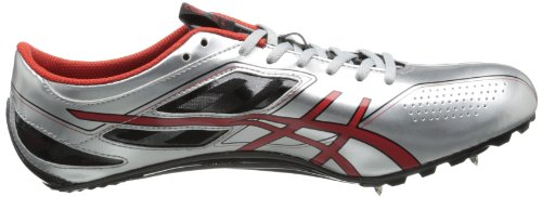 ASICS Men's Sonicsprint Track Shoe,Silver/Fire Red/Black,8 M US by ASICS (Image #6)