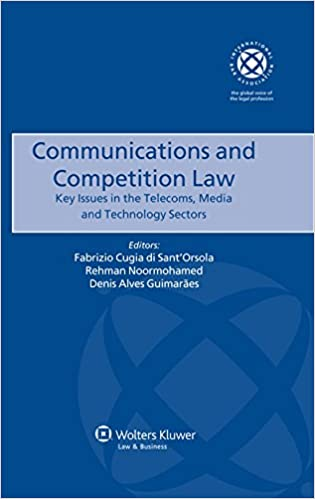 Communications And Competition Law Key Issues In The Telecoms