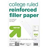 Filler Paper Reinforced College Ruled 100ct - up & up153; White