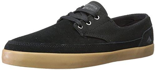 Emerica - Zapatillas de lona para hombre negro (Gum)