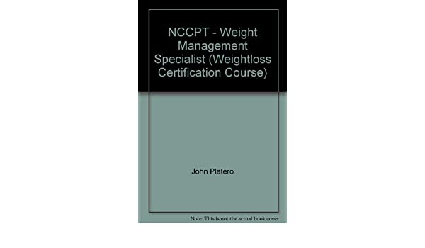 NCCPT - Weight Management Specialist (Weightloss Certification ...