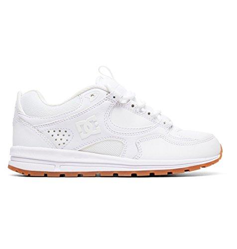 Scarpe Kalis Dc gomma Lite Bianco Bianco da Adjs100081 Sneakers donna q16AZrqwP