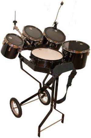 Carro para batería con caja de percusión, 4 tomas, soporte para Hi-Hat, 1 soporte para platillos: Amazon.es: Instrumentos musicales