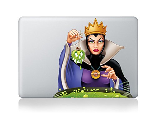 Evil Queen Colored 3D Cool Design Colored Black White Macbook Sticker Decal Vinyl Skin Cover Laptop Buy 2 Get 1 Free (Evil Queen, Evil Queen) (Peter Pan Macbook Decal compare prices)