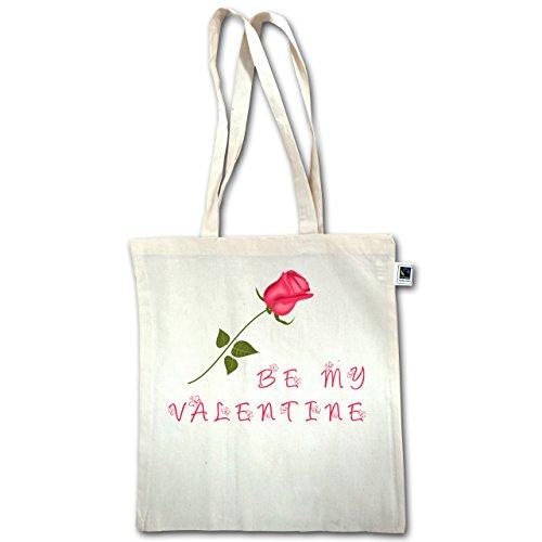 San Valentino - Sii Mio Valentine Rose Love - Unisize - Natural - Xt600 - Manico Lungo In Juta Bag